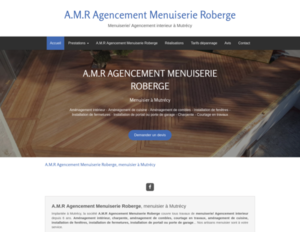 A.M.R Agencement Menuiserie Roberge Mutrécy, Menuiserie générale, Menuiserie extérieure, Menuiserie intérieure